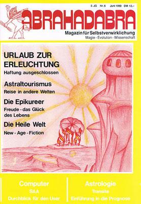 Abrahadabra. 2. [eig. 3.] Jhg. 1990, Nr. 6 (Juni).