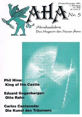 AHA. 7. Jhg., Nr. 5 (= Oktober/November 1994).