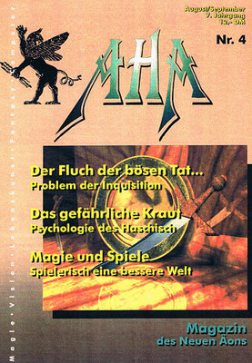 AHA. 7. Jhg., Nr. 4 (= August/September 1995).