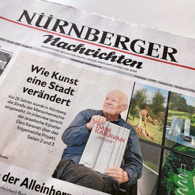 Wir sind auf der Titelseite der Nürnberger Nachrichten!