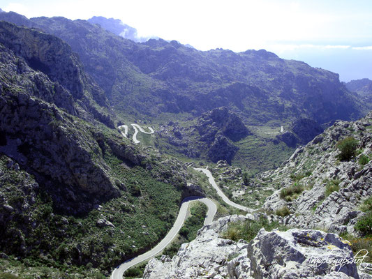 Weg nach Sa Calobra