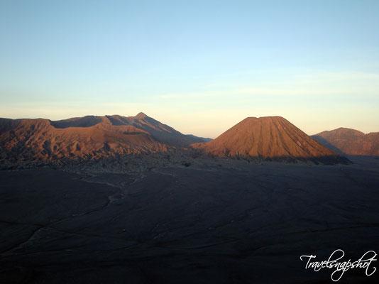Blick auf den Bromo Vulkan