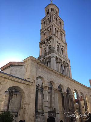 Glockenturm der Kathedrale Sveti Duje