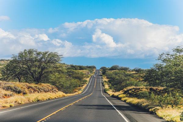 Highway 19 - Schieflage durch den Mauna Loa