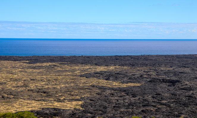 Lavafelder bis zum Meer