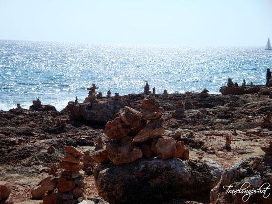 Steintürme Kap de Ses Salines