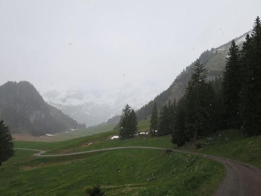 Die schöne Alpstein Landschaft