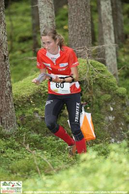 Martina beim Mitteldistanzrennen