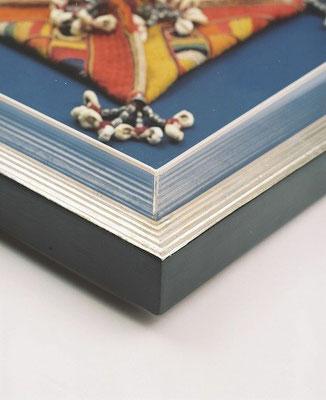 Objektrahmen für Textilien