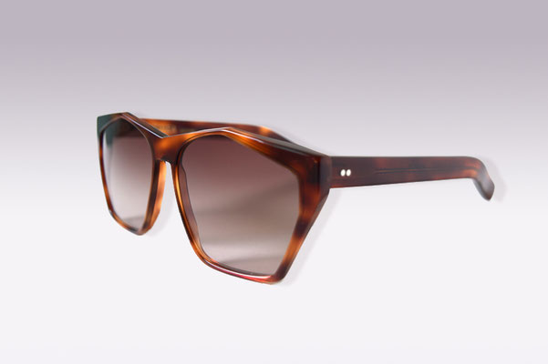 Antinea / tortoise / brown gradient lens / size 55 / €169,00