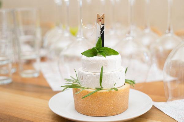 Hochzeitsfotograf aus Luzern - Käsetorte