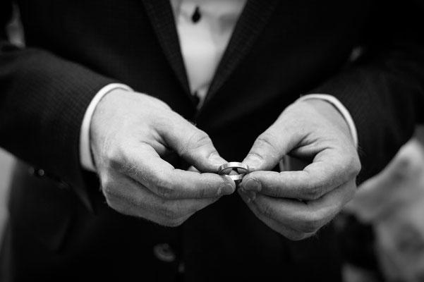 Hochzeitsfotograf aus Luzern - Ring