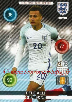 Panini England 2016 Adrenalyn XL - N° 050