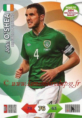 2014 - Panini Road to FIFA World Cup Brazil Adrenalyn XL - N° 110 - John O'SHEA (République d'Irlande)