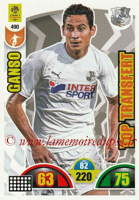 2018-19 - Panini Adrenalyn XL Ligue 1 - N° 490 - GANSO (Amiens) (Top Transfert)