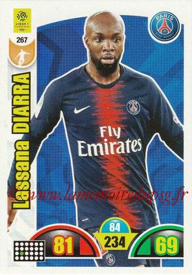 2018-19 - Panini Adrenalyn XL Ligue 1 - N° 267 - Lassana DIARRA (Paris Saint-Germain)