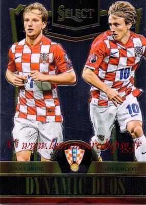 2015 - Panini Select Soccer - N° DD05 - Ivan RAKITIC + Luka MODRIC (Croatie) (Dynamic Duos)