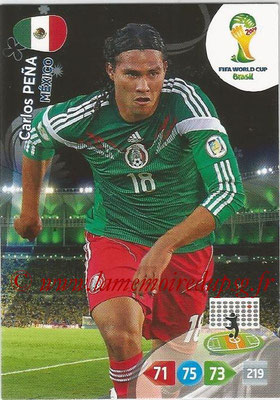 2014 - Panini FIFA World Cup Brazil Adrenalyn XL - N° 246 - Carlos PENA (Mexique)