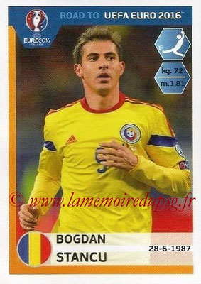 Panini Road to Euro 2016 Stickers - N° 253 - Bogdan STANCU (Roumanie)