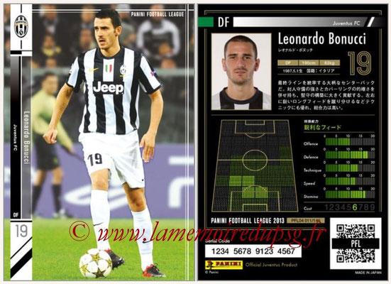 Panini Football League 2013 - PFL04 - N° 011 - Leonardo BONUCCI (Juventus FC)