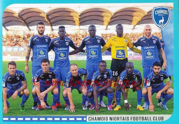 2016-17 - Panini Ligue 1 Stickers - N° 888 - Equipe Niort