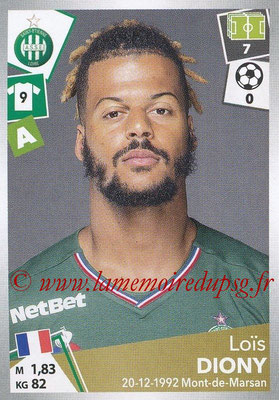 2017-18 - Panini Ligue 1 Stickers - N° 433 - Loïs DIONY (Saint-Etienne)