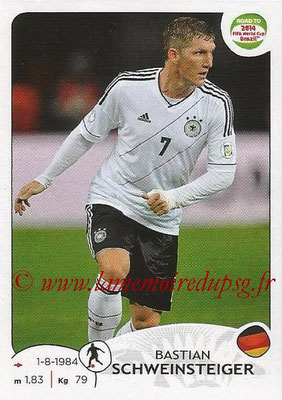 2014 - Panini Road to FIFA World Cup Brazil Stickers - N° 049 - Bastian SCHWEINSTEIGER (Allemagne)