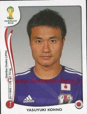 2014 - Panini FIFA World Cup Brazil Stickers - N° 245 - Yasuyuki KONNO (Japon)