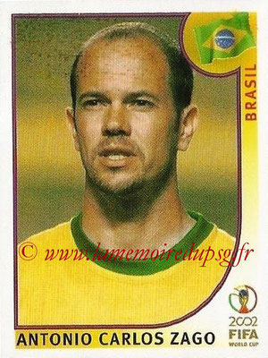 2002 - Panini FIFA World Cup Stickers - N° 173 - Antonio Carlos ZAGO (Brésil)