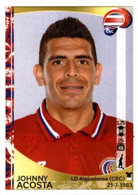 Panini Copa America Centenario USA 2016 Stickers - N° 069 - Johnny ACOSTA (Costa Rica)