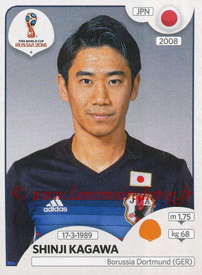 2018 - Panini FIFA World Cup Russia Stickers - N° 663 - Shinji KAGAWA (Japon)