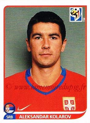 2010 - Panini FIFA World Cup South Africa Stickers - N° 304 - Aleksandar KOLAROV (Serbie)