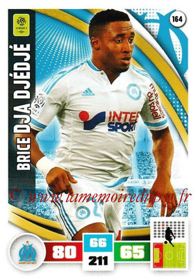 2016-17 - Panini Adrenalyn XL Ligue 1 - N° 164 - Brice DJA DJEDJE (Marseille)