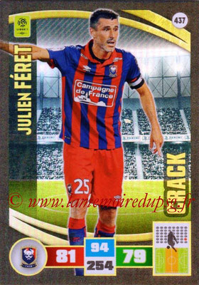 2016-17 - Panini Adrenalyn XL Ligue 1 - N° 437 - Julien FERET (Caen) (Crack)