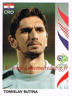 2006 - Panini FIFA World Cup Germany Stickers - N° 399 - Tomislav BUTINA (Croatie)