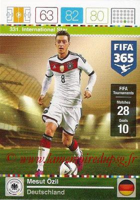 2015-16 - Panini Adrenalyn XL FIFA 365 - N° 331 - Mesut ÖZIL (Allemagne) (International Star)