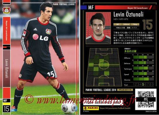 Panini Football League 2014 - PFL08 - N° 097 - Levin ÖZTUNALI (Bayer Leverkusen)