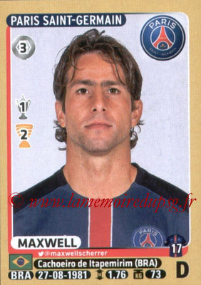 2015-16 - Panini Ligue 1 Stickers - N° 345 - MAXWELL (Paris Saint-Germain)