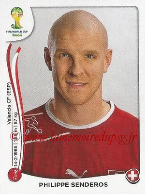 2014 - Panini FIFA World Cup Brazil Stickers - N° 343 - Philippe SENDEROS (Suisse)