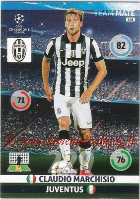2014-15 - Adrenalyn XL champions League N° 148 - Claudio MARCHISIO (Juventus FC)