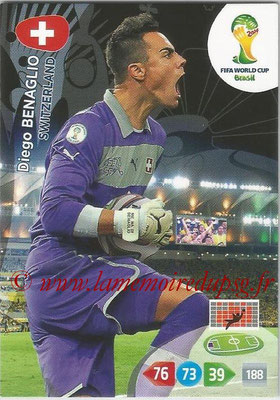 2014 - Panini FIFA World Cup Brazil Adrenalyn XL - N° 293 - Diego BENAGLIO (Suisse)