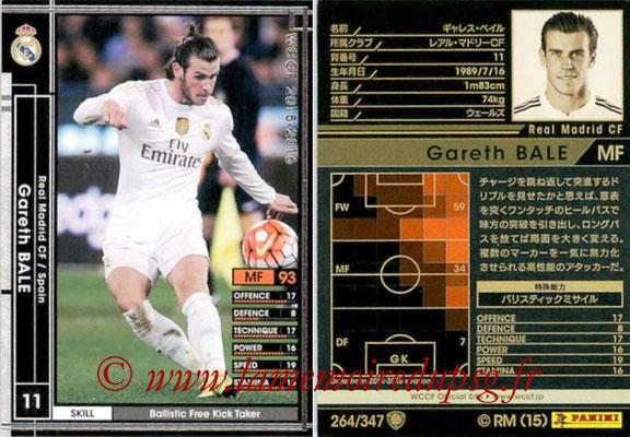 2015-16 - Panini WCCF - N° 264 - Gareth BALE (Real Madrid CF)