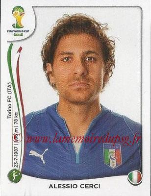 2014 - Panini FIFA World Cup Brazil Stickers - N° 332 - Alessio CERCI (Italie)