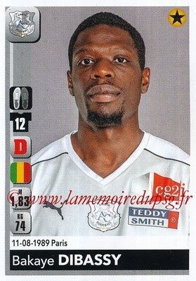 2018-19 - Panini Ligue 1 Stickers - N° 004 - Bakaye DIBASSY (Amiens)