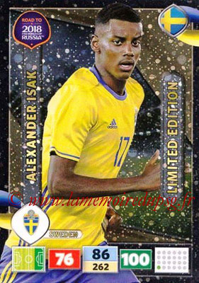 2018 - Panini Road to FIFA World Cup Russia Adrenalyn XL - N° LE-AIS - Alexander ISAK (Suède) (Limited Edition)