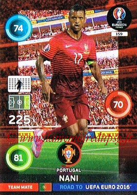 Panini Road to Euro 2016 Cards - N° 159 - NANI (Portugal)