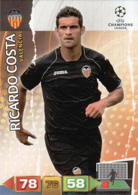 2011-12 - Panini Champions League Cards - N° 250 - Ricardo COSTA (FC Valence)