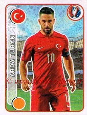 Panini Euro 2016 Stickers - N° 425 - Arda TURAN (Turquie)