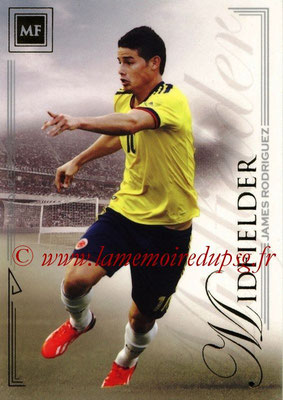 2014 - Futera World Football Unique - N° 058 - James RODRIGUEZ (Midfielder)