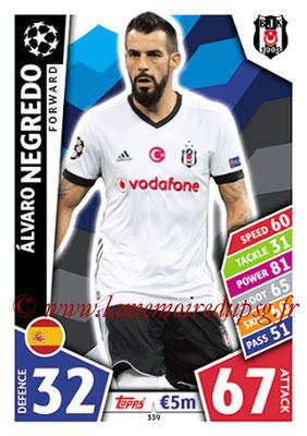 2017-18 - Topps UEFA Champions League Match Attax - N° 339 - Alvaro NEGREDO (Besiktas JK)